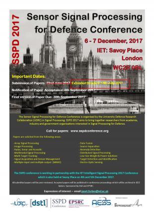 SSPD 2017 Conference Flyer